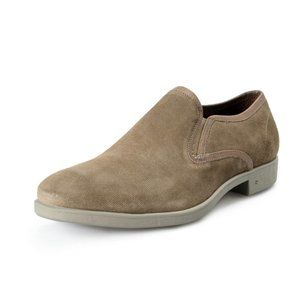 John Varvatos Leather Slip On Loafers Shoes